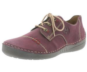 Rieker Damen Sneaker rot bordo 52520 35   Ceres Webshop