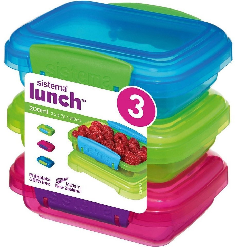 Sistema Lunch Set 3 x 200 ml