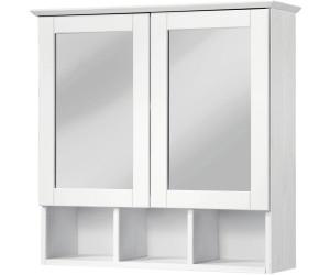 Konifera Spiegelschrank Landhaus Sylt Rügen 60cm weiß