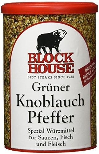Block House Grüner Knoblauch Pfeffer (200g)