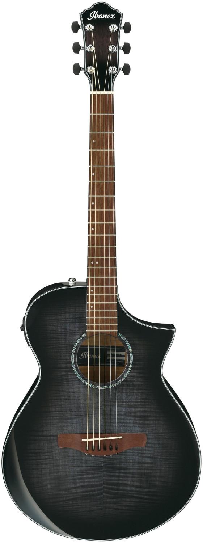 Image of Ibanez AEWC400-TKS Transparent Black Sunburst