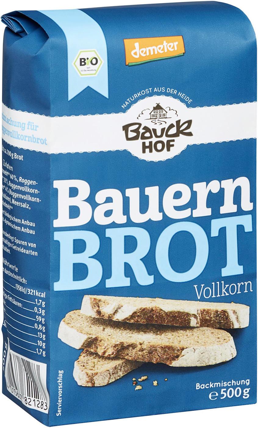 Bauckhof Bauernbrot Vollkorn Demeter (500g)
