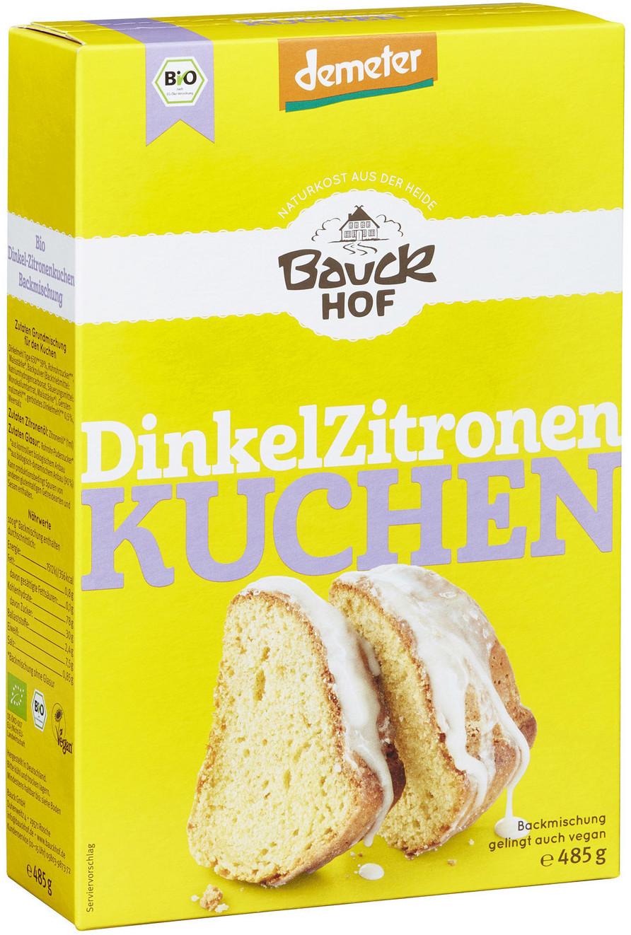 Bauckhof Bio Demeter Dinkel Zitronenkuchen (485g)