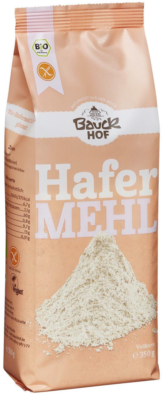 Bauckhof Bio Hafermehl Vollkorn (350g)