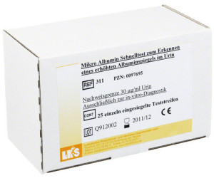 Laboklinika Mikro Albumin Test (25 Stk.)