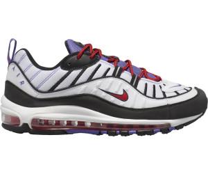 Nike Air Max 98 whitepsychic purpleuniversity redblack a