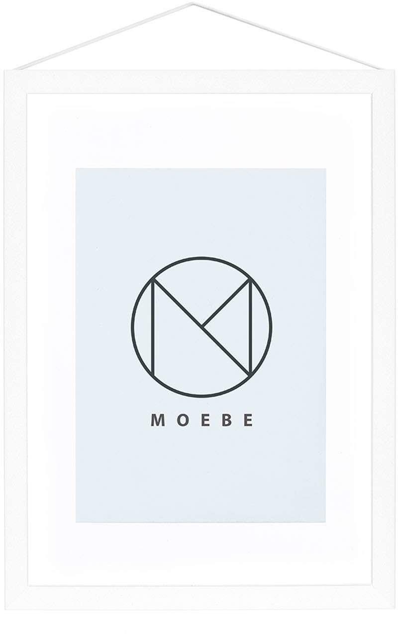Image of MOEBE Frame A5 white
