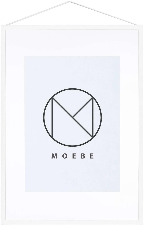 Image of MOEBE Frame A3 white