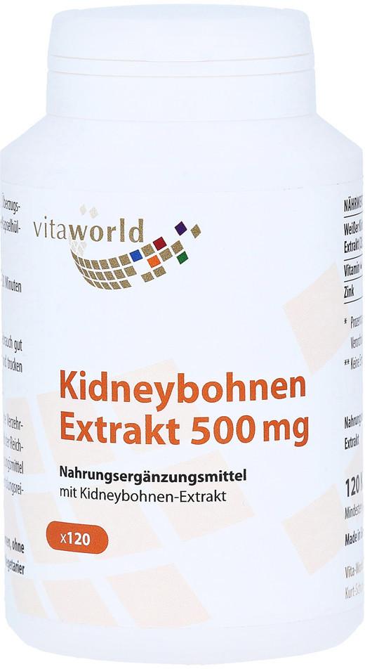 Vita-World Kidneybohnen Extrakt 500mg Kapseln (120 Stk.)