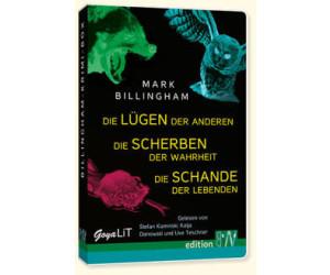 mobi Hörstick - Billingham-Krimi-Box (Mark Billingham) [Hörbuch-Stick]