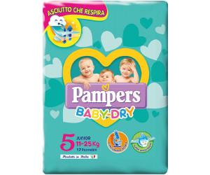 11//–/25/kg Pampers Baby Dry Windeln Junior Gr/ö/ße 5/ 17/Windeln