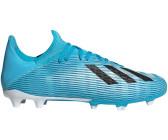 adidas X 19.3 LL FG Fußballschuhe Kinder bright cyan silver