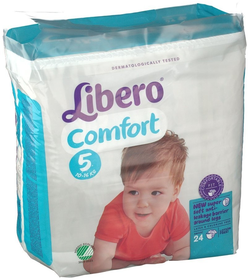 Libero Libero Comfort Size 5 (10-16 kg) 24 pcs.
