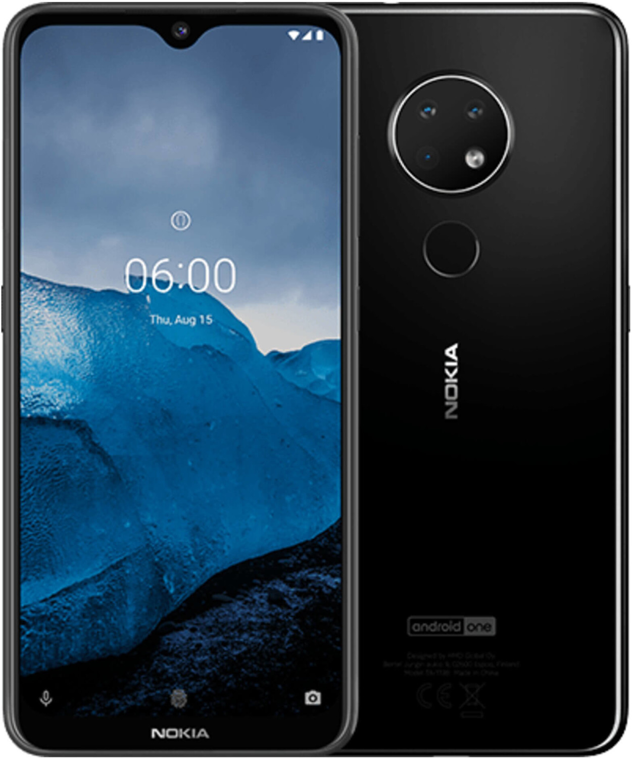 Image of Nokia 6.2 64GB Ceramic Black