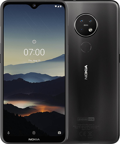 Image of Nokia 7.2 64GB Charcoal