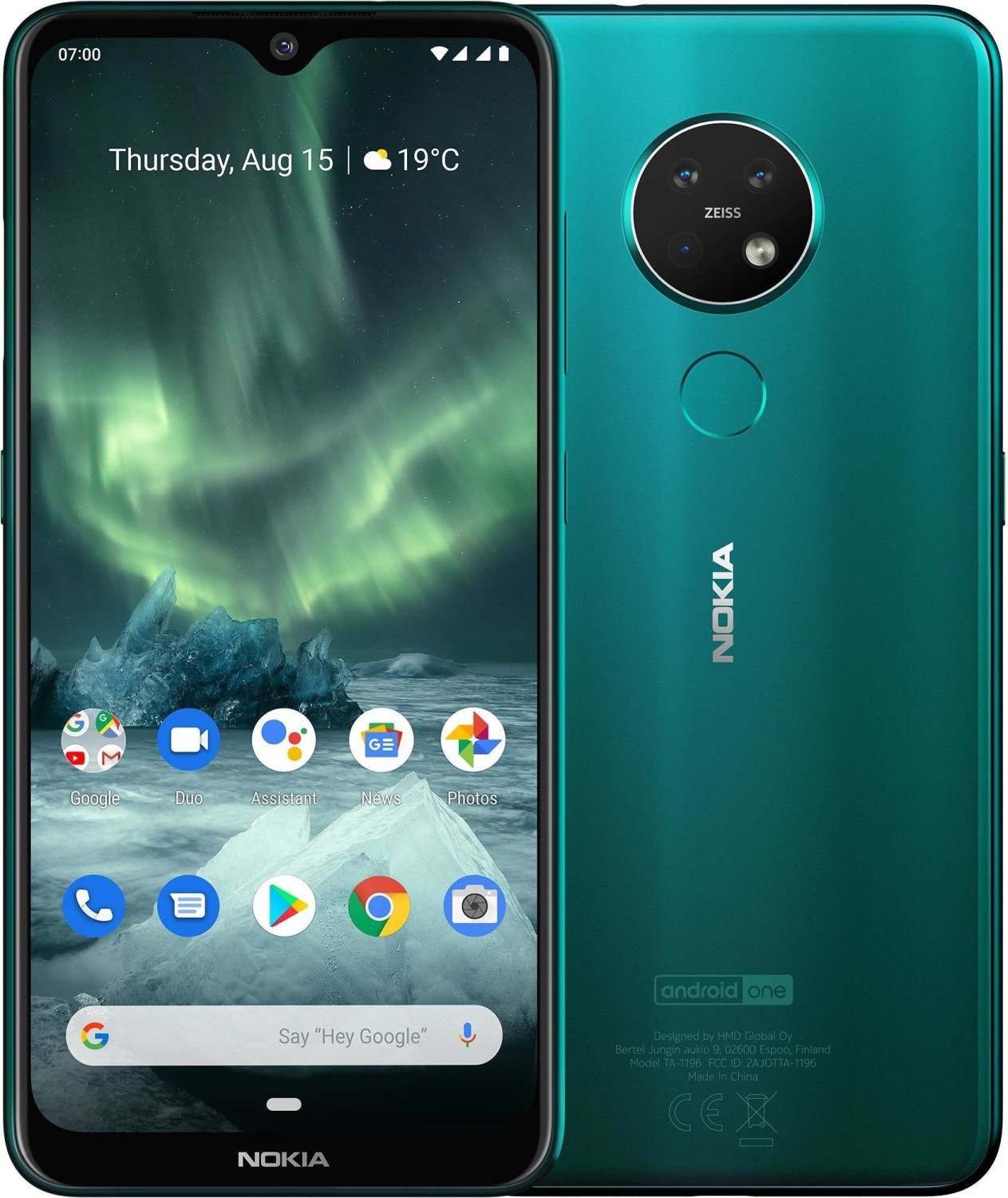 Image of Nokia 7.2 64GB Cyan Green