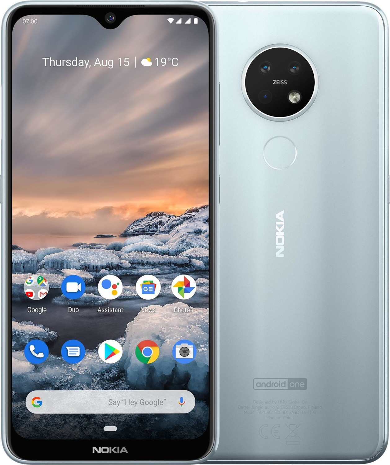 Image of Nokia 7.2 64GB Ice