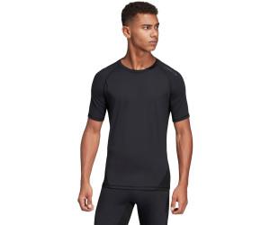 T shirt adidas AlphaSkin Sport manche courte noir