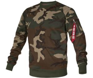 ALPHA INDUSTRIES Sweatshirt mit Camouflage Muster Modell 'X