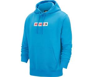 Nike Herren NSW JDI Pullover Hoodie weiß schwarz | Pullover