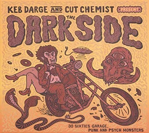 Image of BBE Keb Darge & Cut Chemist - Keb Darge & Cut Chemist Present The Dark Side 30 Sixties Garage Punk And Psyche Monsters (Vinyl)