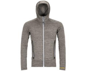 Ortovox Fleece Light Melange Hoody M grey blend (87067) ab
