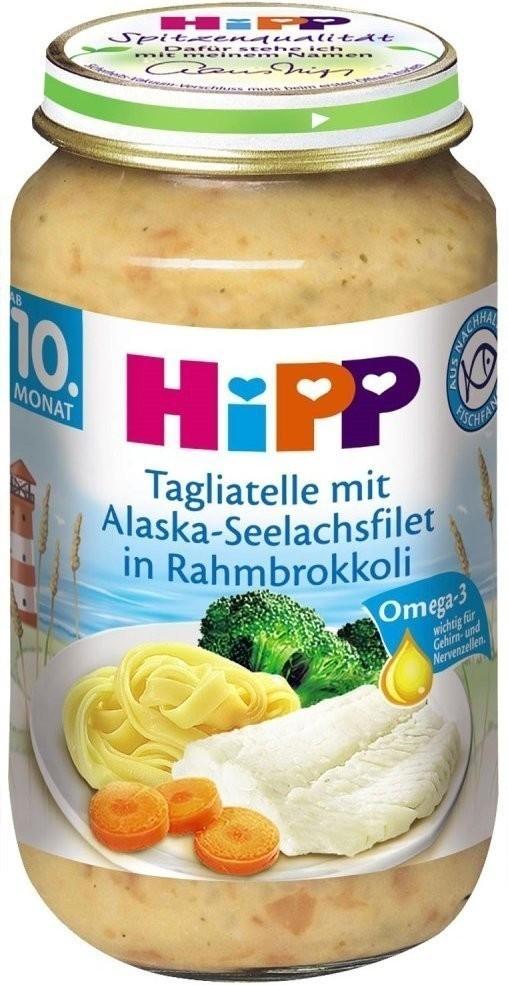 Hipp Tagliatelle mit Seefisch in Rahmbrokkoli (...