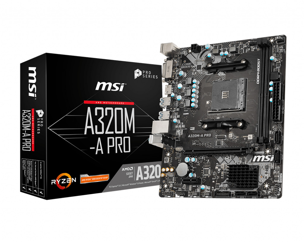Image of MSI A320M-A Pro