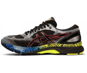 Asics Gel-Nimbus 21 Women Lite-Show Black/Electric Blue ...