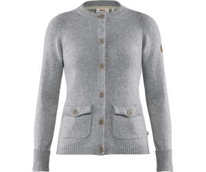 Fjällräven Övik Frost W cardigan beige grey