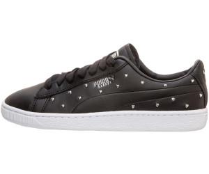 PUMA Basket Baskets Studs Sneaker in schwarz 369298 02