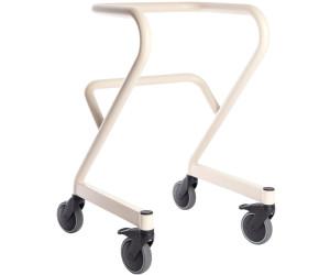 Saljol Page Wohnraum-Rollator mit Fußbremse Gr. S elfenbeinweiß