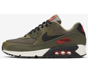 Nike Air Max 90 Essential Sneaker Herren oliv orange im