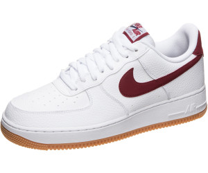 Nike Air Force 1 '07 whiteuniversity redgum medium brown