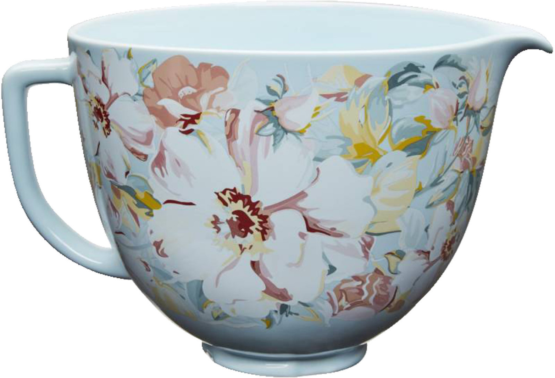 KitchenAid Keramikschüssel White Gardenia 5KSM2CB5PWG