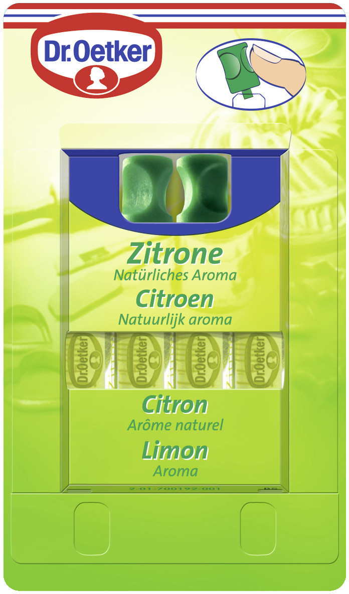 Dr. Oetker Zitronenaroma 4x 2ml