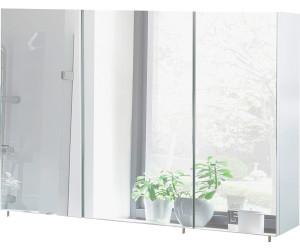 Schildmeyer Basic Spiegelschrank Ohne Beleuchtung Weiss Glanz