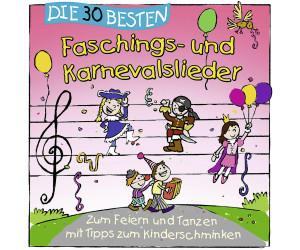 Die 30 besten Faschings- und Karnevalslieder (CD)