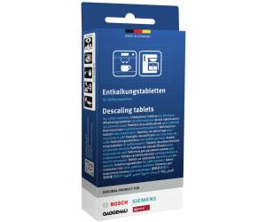 3 x Entkalkungstabletten für Kaffeemaschine Siemens 00311821 TCZ8002