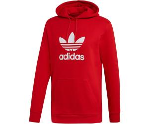 Adidas Orginals Trefoil Hoodie Men scarlet white (EJ9680