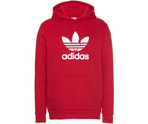Adidas Orginals Trefoil Hoodie Men power red (DX3614) ab 42