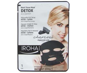 Iroha Detox schwarze Tuchmaske