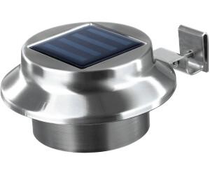easymaxx solar-dachrinnen-leuchte rund 3er-set