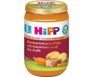 Hipp Rosmarinkartoffeln mit Karotten und Bio-Kalb (220 g)