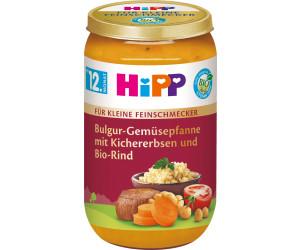 Hipp Bulgur-Gemüsepfanne mit Kichererbsen und Bio-Rind (250 g)
