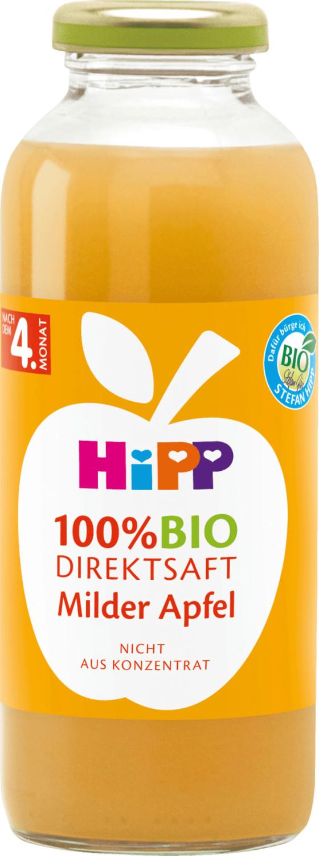 Hipp Bio Direktsaft Milder Apfel (330 ml)