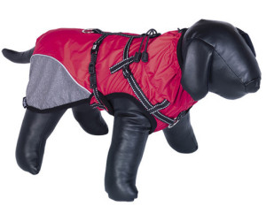 Nobby Hundemantel Akam mit Geschirr rot Länge: 26 cm