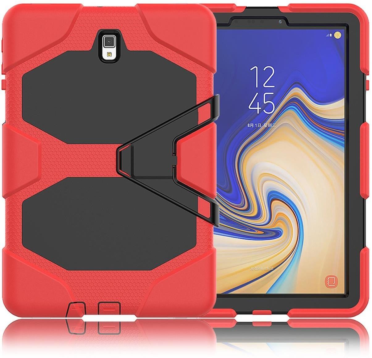 Image of Lobwerk 3in1 Case Galaxy Tab S4 10.5 red (098501)