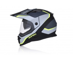 Casco Acerbis Reactive Taglia M Nero Opaco Enduro Adventure Tourer