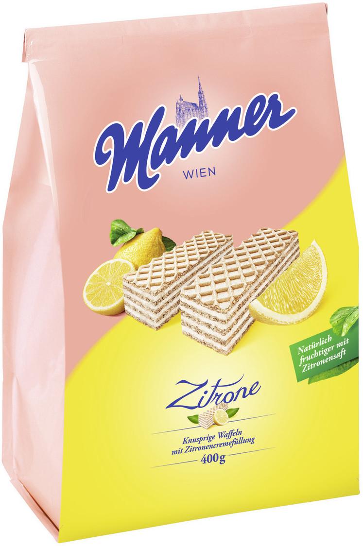 Manner Schnitten Zitrone (400g)